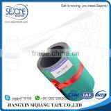 2.0mm green/black nylon flat belt