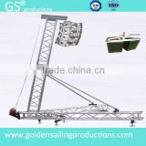 heavy duty aluminum truss beam A-shape truss stage truss with tower system
