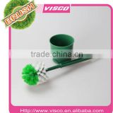 Round head toilet brush with holder,VB215B2