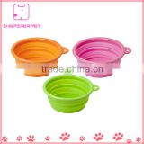 Collapsible Pet Feeding Bowl Dog Cat Travel Dish Silicone Bowl                                                                         Quality Choice