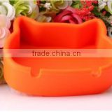Hello kitty shaped silicone ashtray in high quality made in China
