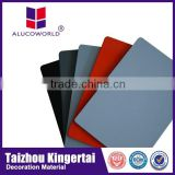 Alucoworld pvdf coated interior and exterior aluminium wall cladding with recycling construction material