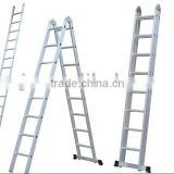 A type double sides aluminum step ladder with EN131