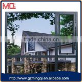Grey color aluminium small window awning opening