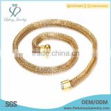 Beautiful newest gold filled chain necklace designs jewelry