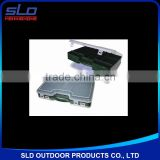 fishing tackle accessories storage plastic boxes with compartment double cover