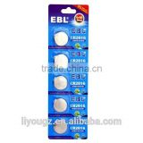 5X EBL 3V Lithium Cell Coin Battery CR2016 CR 2016 DL2016 For Watch