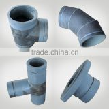 plastic pipe fittings mc nylon elbow, clamp, tee joint connector
