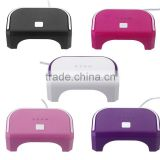 5 Color 12W LED Lamp For Gel Nails Tools Nail Art Dryer Machine