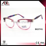 2016 cat eye quality handmade fashion new model acetate eyeglasses optical frames optics spectacle wholesale                                                                                                         Supplier's Choice