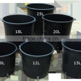 Wholesale Hydroponic Nursery Plastic Plant Bag rattan high garden furniture