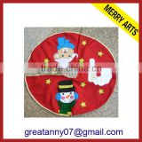 2014 new hot style christmas decoration candy christmas tree skirt christmas tree skirt wood wholesale