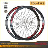 Professional! 2015 high quality 38mm Carbon road wheels ,Carbon road wheels with straight pull hub & sapim Cx-ray spokes