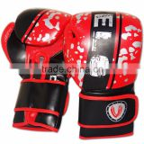 Leather Boxing Gloves Punch Bag Fight MMA Grappling Pads RDB