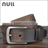 Antique style custom crazy horse cowhide genuine leather men leather belt