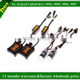 Auto accessories kits hid 35w 55w 75w 100w h1,h3,h4,h6,h7,h8,h9,h11,9004,9005,9006,9007 xenon lamp for projectors