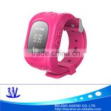 New products in china smart children kids wrist watch with GPS, tracking device function
