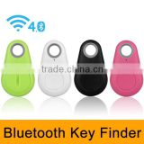 4-colors Bluetooth 4.0 Smart Tracker Anti-Lost alarm tracer GPS Wireless Keychain Locator