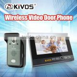 KIVOS KDB700 multi apartments wireless video door phone intercom
