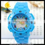 WJ-4469 Charming wholesale cheap colorful words special design new brand SBAO child sport watch for kids