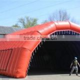 QH-T-13-new design large inflatable clear tent new design inflatable sports_tent_with_hat_shape_inflatable_car_tent