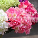 Factory direct sale artificial flowers colorful hydrangea flowers                                                                         Quality Choice