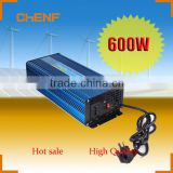 Chenf 600W Energy Saving DC to AC Solar Power System Off Grid Solar Inverter With Battery Charger