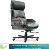 Cheapest design full black leather director office chair