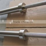 high quality chrome barbell competition olympic steel gymnastic bar equipment