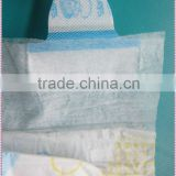 Cloth-like Diaper Factory in China Diapers with Magic Tapes and Elastic Band B grade diaper
