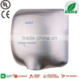 AIKE UL ROHS compliant Automatic hand dryer jet air hand dryer