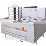 JINZAO ECS-2A-N Stainless steel Gas Steamer Chinese kitchen equipment/Commercial Restaurant dim sum Steamer