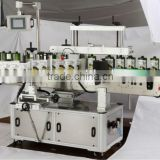 SPX-830GS neck front and back three sticker labeling machinery for customized bottles