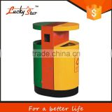 3L-12L carbon plastic /steel foot pedal operated waste stanitary bins