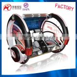 guangzhou factory 2 players exciting car battery making machine rocking car shopping mall machine with coin system