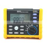 Bi-poles or Tri-poles Digital ground resistance meter earth voltage meter