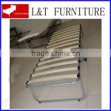 Camping/Guestroom/Hotel/Office/Hospital Thick Sponge Mattress Foldable Bed/Cheap metal Folding Bed