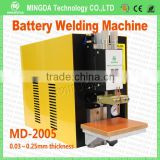 The spot welder Manufacturer MINGDA MD-2005 0.25mm Nickel 18650 Dual Pulse Battery Welding Machine