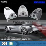 Newest Anti Collision Rear-end Car solar Laser Tail Fog Light Auto Brake Parking Lamp Rearing Warning Light
