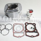 Aluminum Alloy Motorcycle Cylinder Kits with Gasket set for FXD 125 56.5mm motorcycle part