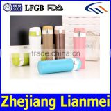 can pass FDA LFGB Wholesale promotional double wall vacuum flask water bottle for healthy life