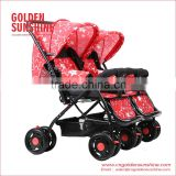 Mother See Baby Twins Stroller/Double Stroller /Twins Carriage /Double Pushchair