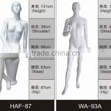 Wholesale fiberglass funny full body egg head mannequins female