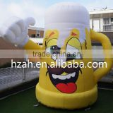 Giant Inflatable Beer Mug for Beer Festival Decoration