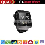 Waterproof Android Smart watch Bluetooth phone, Health monitor watch, Luxury Bluetooth Watch with Auto Focus Camera Q