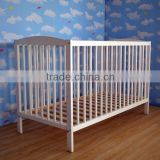 ajustable wooden baby doll cribs and beds EN716-1/2 approved FSC