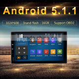 Android 5.1.1 Car PC GPS for Two Din Universal 2DIN 3G Wifi BT SD Navigation Radio RDS Stereo System