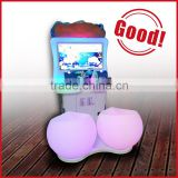 Newest version amusement ride parkour redemption coin operated game lottery drawing machine