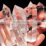 Wholesale nature clear and pure crystal point/wand for decoration