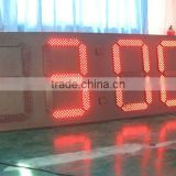 wholesale alibaba latest innovative products electronic digital outdoor led clock time date temperature opening times sign